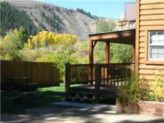 Modern 1 BR with Sleeping Loft Cabin on the Taylor River at Three Rivers Resort in Almont (#57)