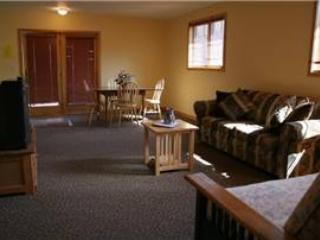 Spacious 2 BR Apartment above Vacation Home at Three Rivers Resort in Almont (149 Loft)