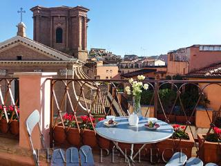 Perfect Penthouse-Spanish Steps-Terrace-View-Angel, Rome