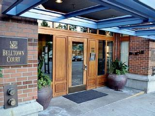 Secured building entrance - Downtown Seattle Condo In Belltown, Parking & Pool - Seattle - rentals