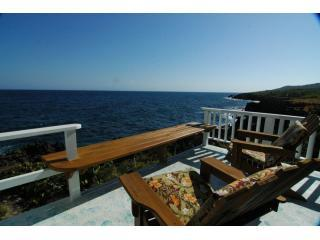 The Blue House, Roatan Vacation Rental porch