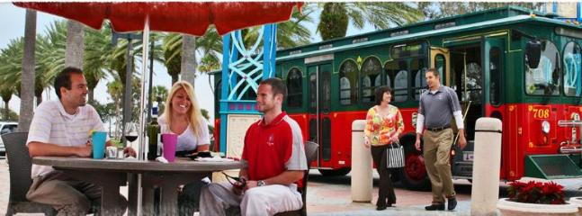 Take the Trolley to see the sites!