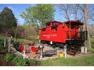1926 C&O Caboose, Natural Bridge
