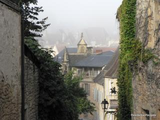 Sarlat Town looking from the end of Rue Landry