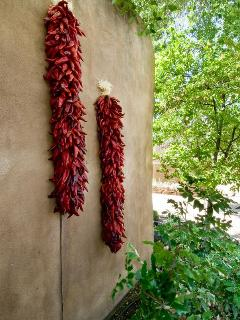 Ristras on Wall