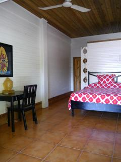 one of the two beach level bedrooms