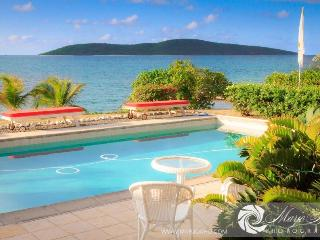 Beachfront house dock pool privacy luxury, Christiansted