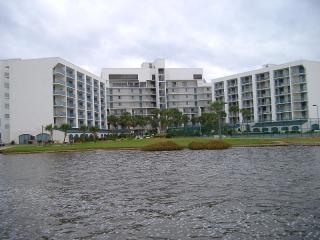 Gulf Shores Surf and Racquet Club overlooking Little Lagoon
