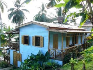 Rafael`s House in the heart of Bastimentos Town. The Caribbean Dream!