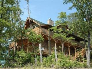 Absolutely Gorgeous Mountain Lodge with Total Privacy and Amazing Views!, Sevierville