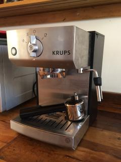 High end espresso coffee maker in every apartment