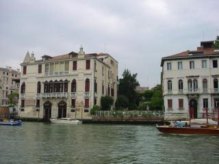 The view of the Grand Canal
