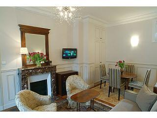 Living-dining room - PARIS 15 - EIFFEL TOWER  - Typical PARISIAN APARTMENT - 15th Arrondissement Vaugirard - rentals