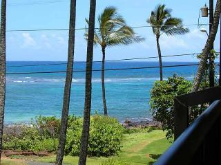 Living room  and Lanai view