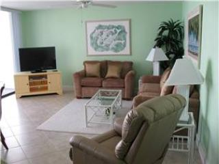 Tropical-theme 2BR with Gulf view #408GV