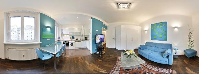 1-bedroom apartment with kitchen