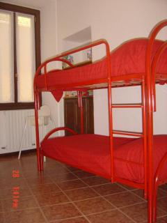 Bunk beds in Terrace apartment