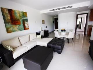 LLiving Area with Flat Screen TV and DVD