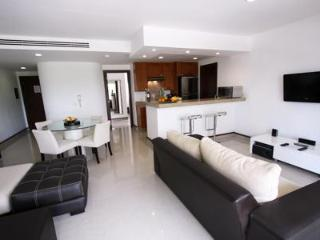 Living Area with Flat Screen TV and DVD