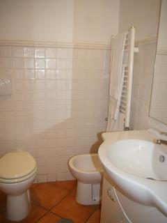 second bath-room with shower
