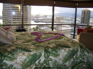 Condo Honolulu downtown.  Parking included  1 BR