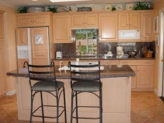 Kitchen with views of the pier and ocean - Ocean, Pier and Beach View - location, location!!! - Pismo Beach - rentals