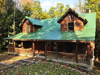 Warm & Cozy 4 Bedroom Log Home w/ elegant furnishings in private setting!, Oakland
