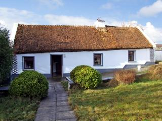 THE THATCHED COTTAGE, pet friendly, character holiday cottage, with a garden in Drummin Near Westport, County Mayo, Ref 2869, Liscarney