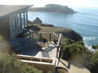 Dramatic, romantic oceanfront 2 bedrm/2 bath home, Gualala