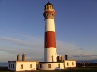 Buchan Ness lighthouse,'Skerry Cottage', Peterhead
