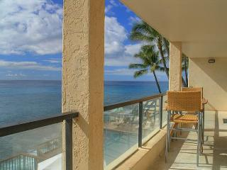 Poipu Shores B202: Amazing oceanfront views, watch sunrise and sunset!