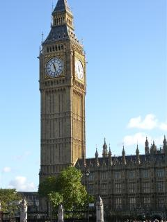 to Big Ben and the Houses of Parliament