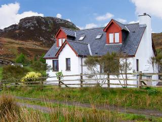 VIKING COTTAGE, pet friendly, country holiday cottage, with a garden in Glenuig, Ref 2886