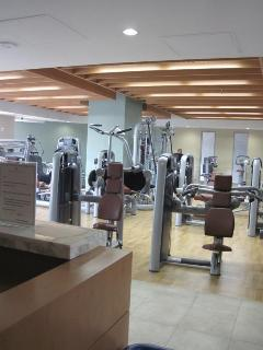 State of the art fitness center on 3rd floor next to pool!