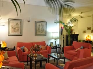 Comfortable,exquisite food,secure,5 star B&B, New Delhi