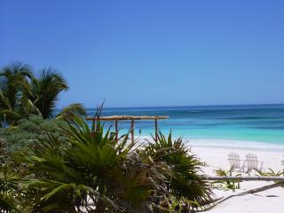 Behla Tulum beach House for rent  Best wedding place in Tulum. www.behlatulum.com