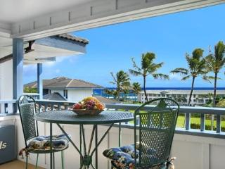 Free Car* with Poipu Sands 225 - Only 100 yards from Shipwreck Beach! 2 bed / 2 bath and heated pool!