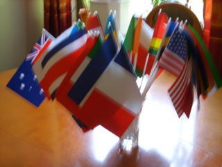 We are an international House - more then 35 nationalities as guests