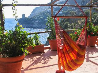 very relaxing hanging chair on the hibiscus terrace