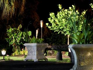 Relax In The Garden and Look Down On Hilo Town