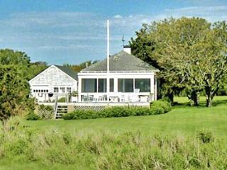 THE BOATHOUSE ON EEL POND: ROMANTIC WATERFRONT ESCAPE WITH PRIVATE OCEAN BEACH - EDG AALL-143, Edgartown