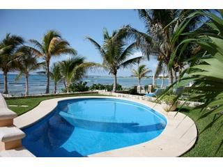 Beach front Pool- One of two with shallow area for kids