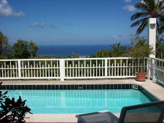Secluded, romantic villa with views of St. Kitts and Statia. KL SEC, San Cristóbal y Nieves