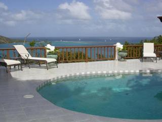 A honeymooner's favorite with privacy and views, this villa can accommodate 4 people. VG VDM, Virgin Gorda
