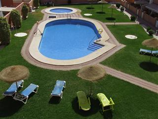 Fantastic Pool area with sunloungers