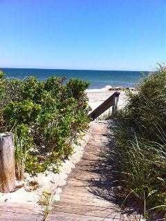 Just a few steps to the beach