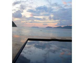 SUNSET AT LONG BAY IN YOUR OWN PRIVATE POOL