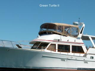 Green Turtle II  Yacht Boston's #1 B & B Free Park