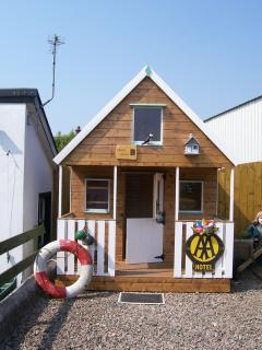 Puffins Perch - playhouse for kids to enjoy with upstairs