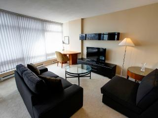 Fully furnished suites in Downtown Vancouver.
